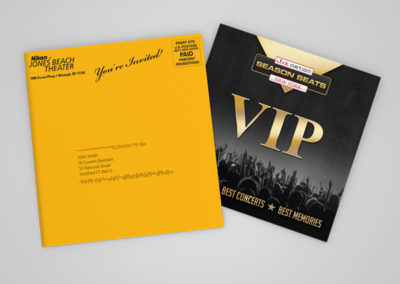 Live Nation: Direct Mail Campaigns