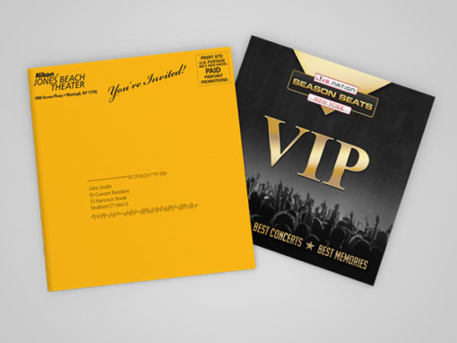Live Nation: <br>Direct Mail Campaigns